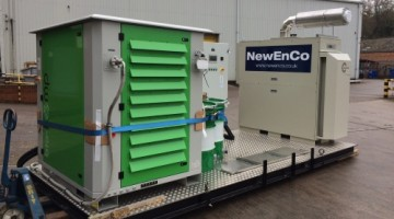 Newenco Completes Seventeen Site Microgen Project